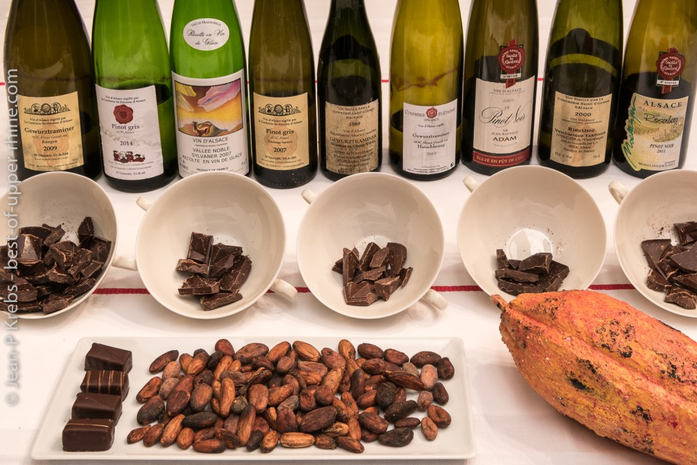 Pairing Alsace wines with chocolate