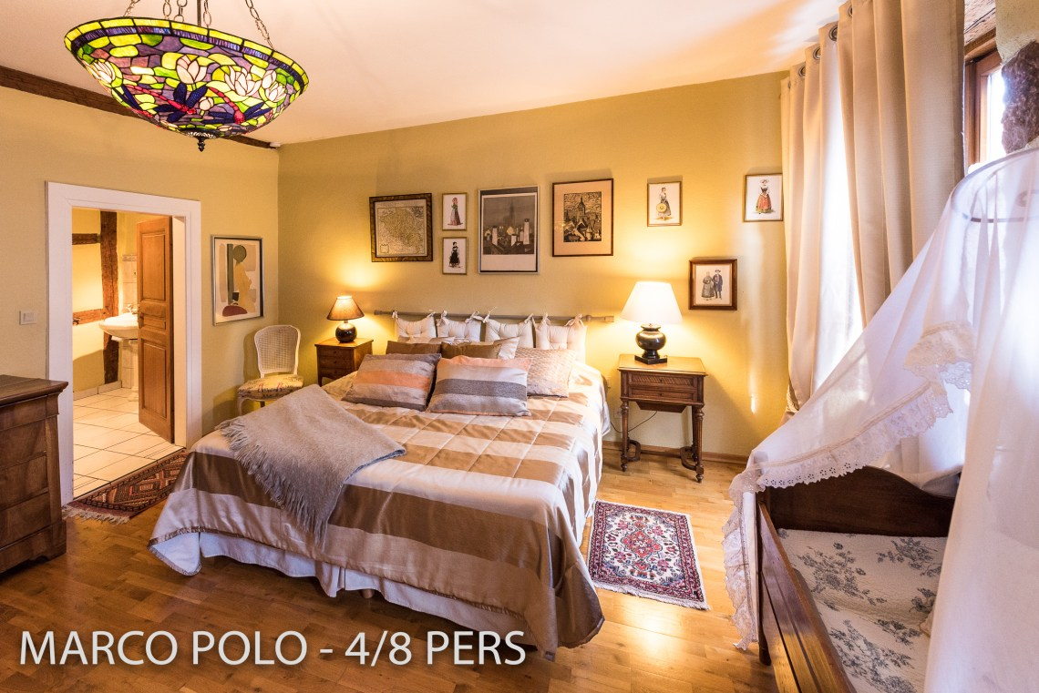 The bedroom in Marco-Polo, Sumptuous and spacious holiday home in Riquewihr for 6 persons