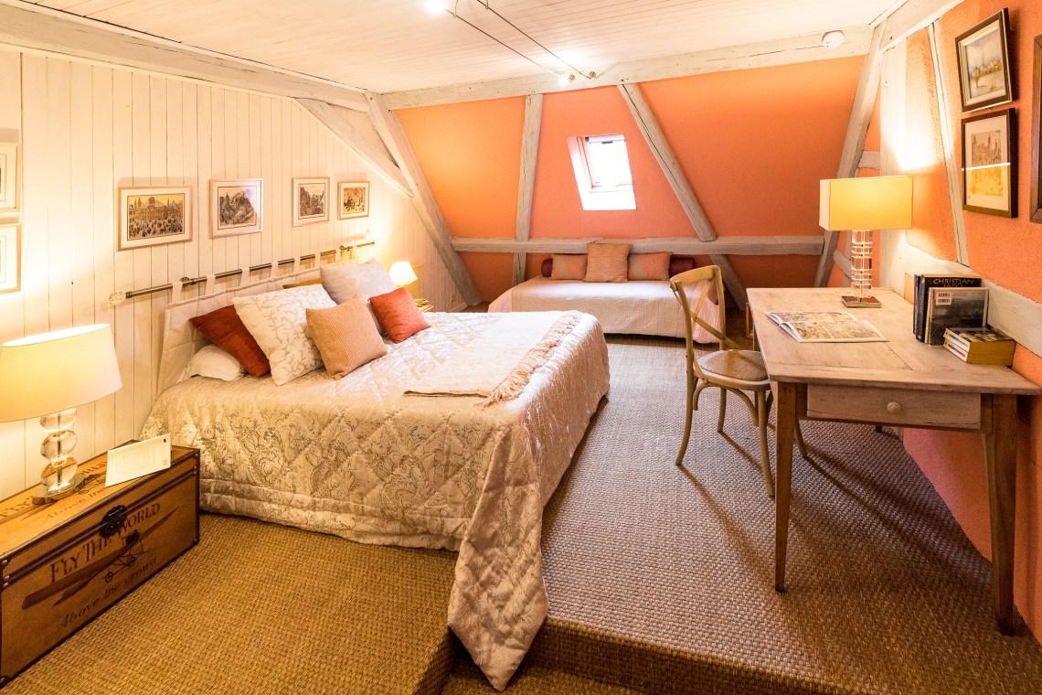The Bedroom of the Marco-Polo, Sumptuous and spacious holiday home in Riquewihr for 6 persons