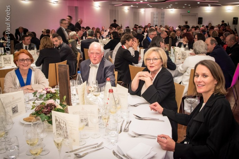 Brotherhood St Etienne of Alsace. Gala dinner during a chapter.