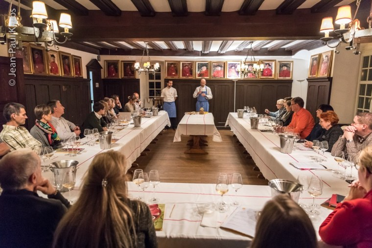 Alsace wines and pastry, workshop with Thierry Mulhaupt, master baker.