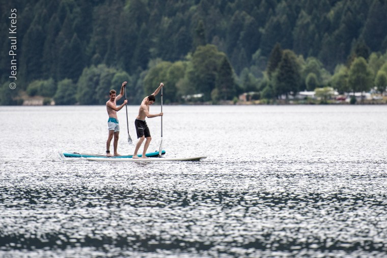 Paddle on Lake Longemer