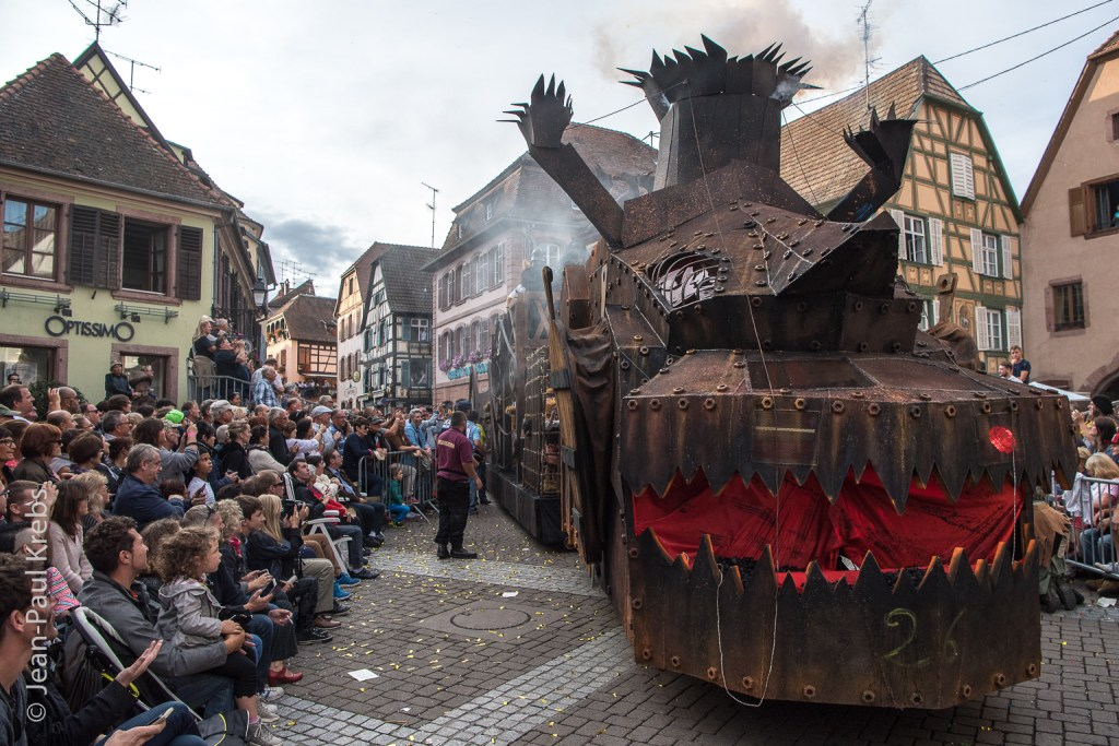 No one can compete with the great Pfifferdaj parade in Ribeauvillé. #VisitAlsace