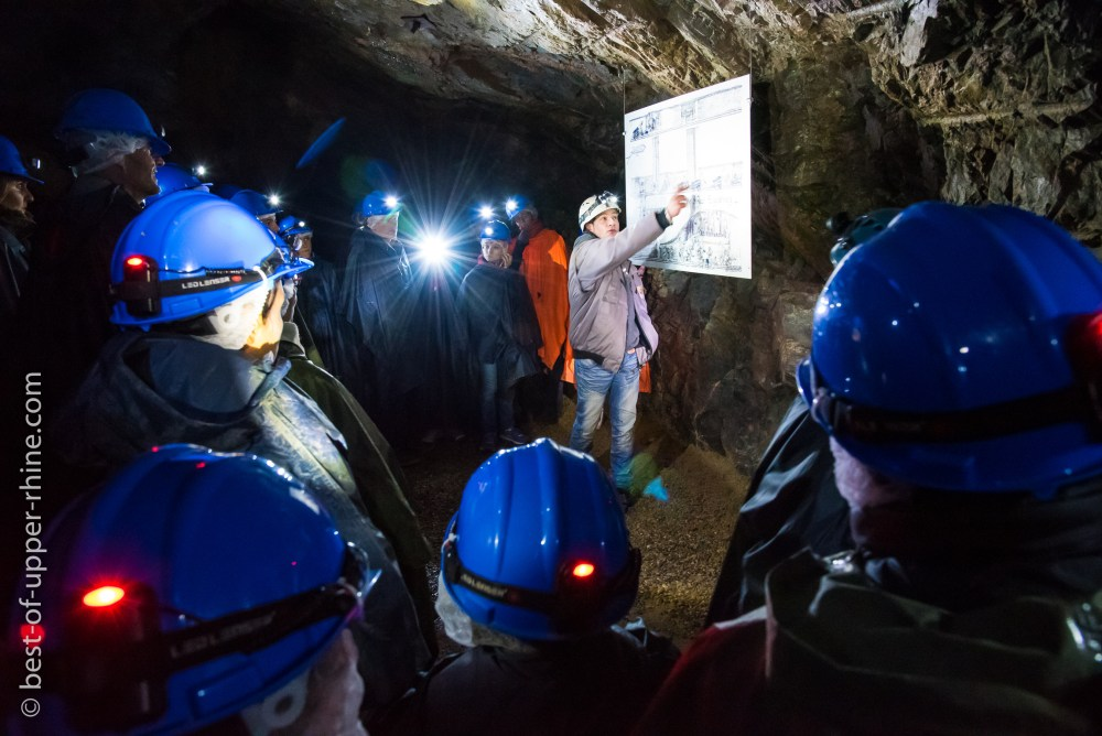 Explore a historic silver mine at Tellure near Sainte-Marie-aux-Mines in the Val d'Argent (Valley of Silver)