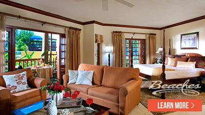 Beaches Negril Jamaica best rooms
