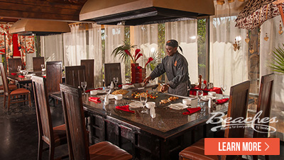 Beaches Turks and Caicos best dinning