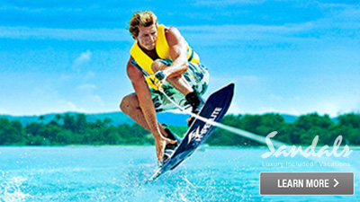 Sandals Antigua watersports