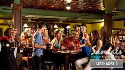 Antigua alcohol bar