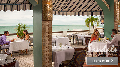 Sandals Antigua best places to eat