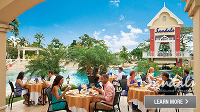 Jamaica best all inclusive resort for food