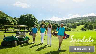 Saint Lucia best golfing
