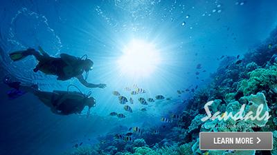 Sandals Montego Bay Jamaica scuba diving