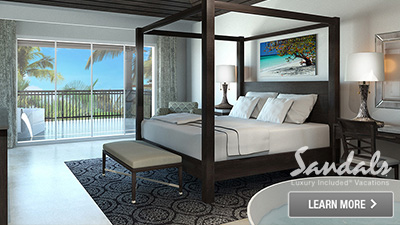 Sandals Royal Caribbean motel suite