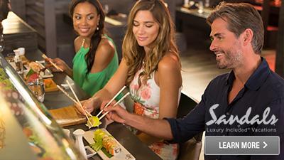 Caribbean delicious sushi bar