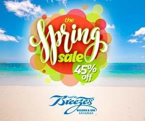 breezes bahamas vacation deals