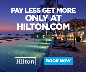 hilton hotels pay less vacation