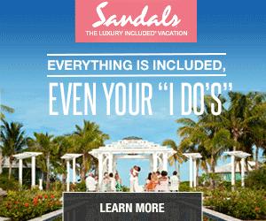 sandals wedding vacation deals