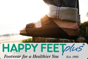 happy feet designer sandals