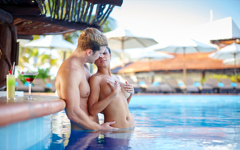 And nude resorts Mexico