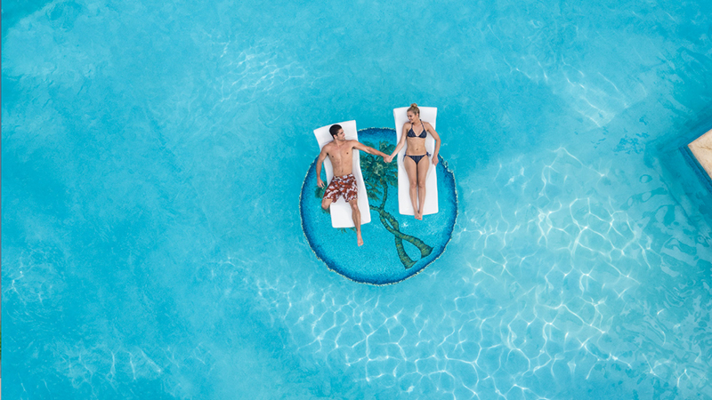 best caribbean hotels for partners in love