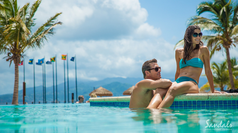 best caribbean hotels for couples in love