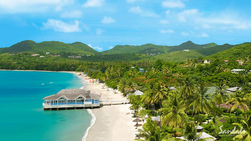 best caribbean hotels for lovers halcyon beach