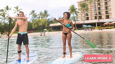 courtyard king kamehameha's kona beach hotel hawaii fun things to do paddle boarding