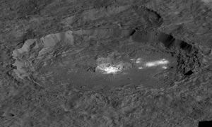 1513350865881 - Dwarf planet Ceres' bright spots suggest an ancient ocean