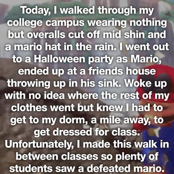 1514160200 983 people confess their most embarrassing walk of shame stories - People Confess Their Most Embarrassing Walk of Shame Stories