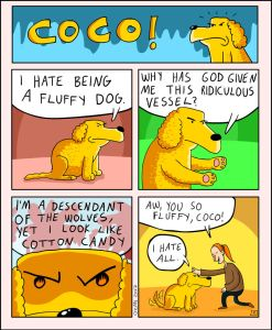 coco the dog ozan draws comics 3 5a38c8a57b502 png  700 247x300 - 17 Hilariously Pessimistic Comics About Coco The Jolly Dog That Every Pessimist Will Relate To