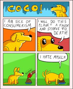 coco the dog ozan draws comics 9 5a38c8c5719ee png  700 247x300 - 17 Hilariously Pessimistic Comics About Coco The Jolly Dog That Every Pessimist Will Relate To
