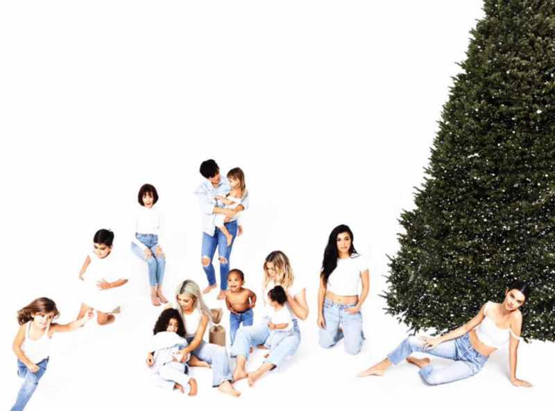 kylie jenner wasnt in the kardashian x mas cards the internet is losing it - Kylie Jenner Wasn't in the Kardashian X-Mas Cards & the Internet is Losing it