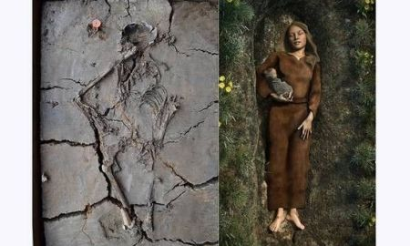 1518490001 remains of mysterious stone age baby found cradled in mothers arm - Remains of mysterious Stone Age baby found cradled in mother's arm