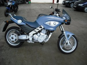 BMW F650 CS motorcycle