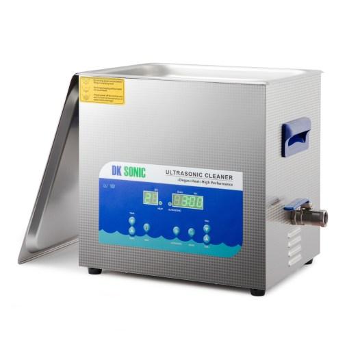 DK Sonic 10 Ltr digital ultrasonic cleaner with degassing