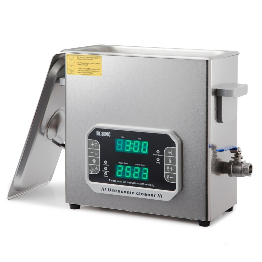 DK 600PF Ultrasonic Cleaner | Touch Screen | Sweep | Degassing (6 litre)