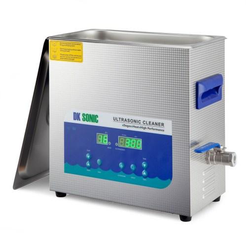 DK Sonic 6 Ltr digital ultrasonic cleaner with degassing