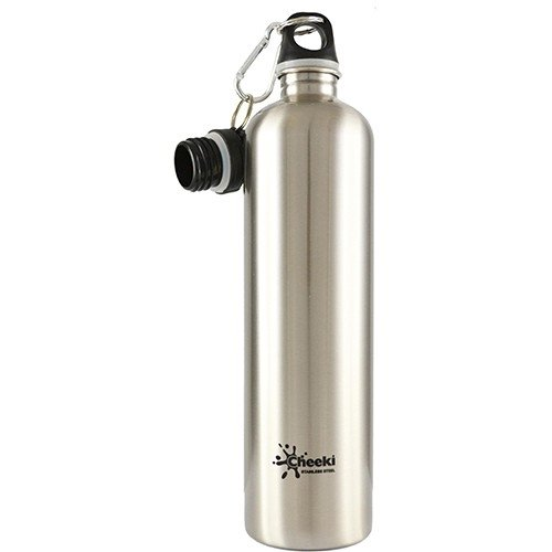 Cheeki metal Water bottle, aka the best metal water bottle.