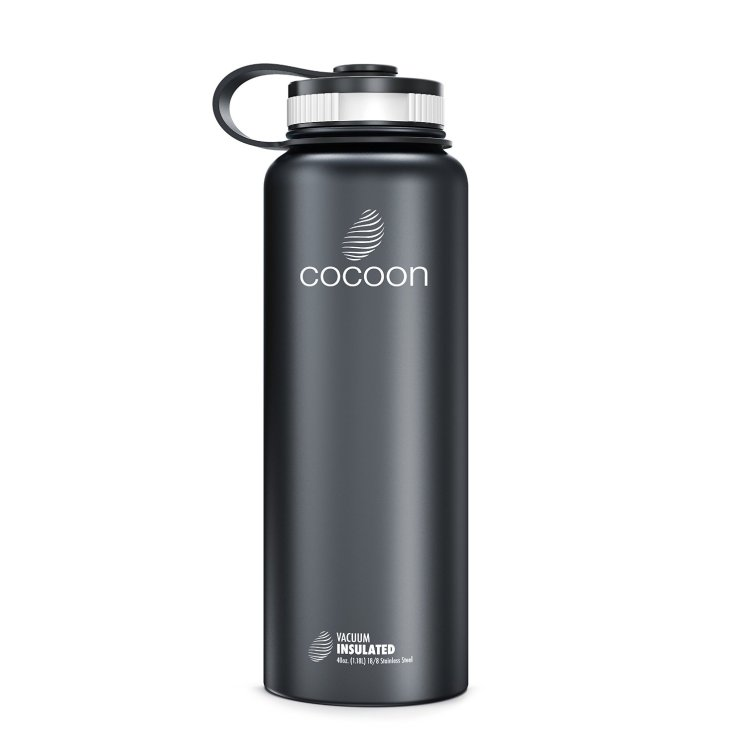 new space grey bottle