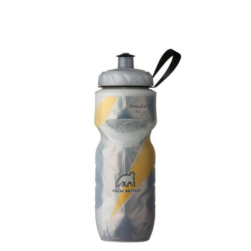 The polar bottle in a yellow edition