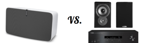 wireless bluetooth speaker reviews vs. home stereo