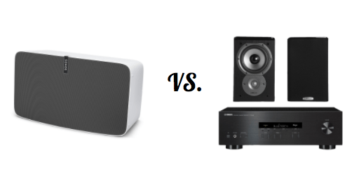wireless bluetooth speaker reviews vs. home stereo