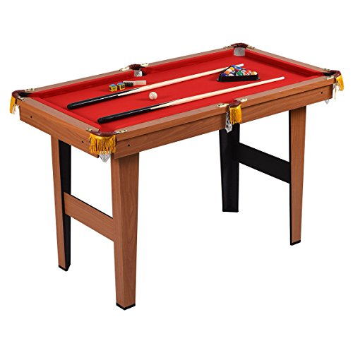 If Youu0027re Looking For A Solid Budget Pool Table, You Might Consider This  One From Goplus. Though Itu0027s Small, Itu0027s Functional Enough To Offer Quite A  Bit Of ...
