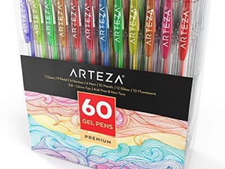 top 10 best gel pens for coloring your adult coloring books in