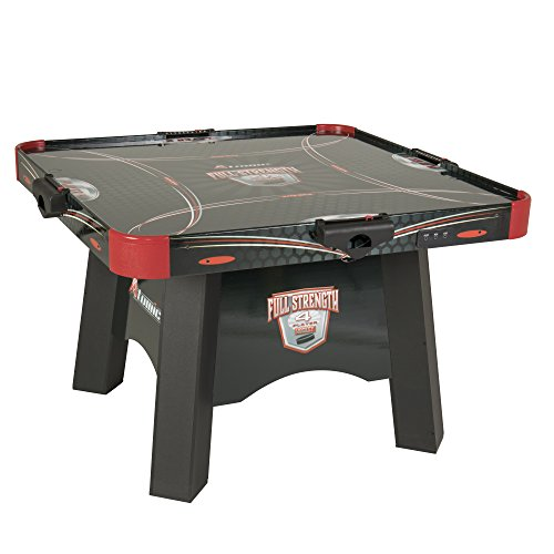 Atomic Full Strength 4 Player Air Powered Hockey Table With LED LIGHT UP  Pucks And Pushers