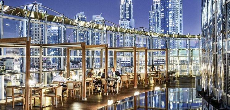 Armani Amal is an eatery in Dubai
