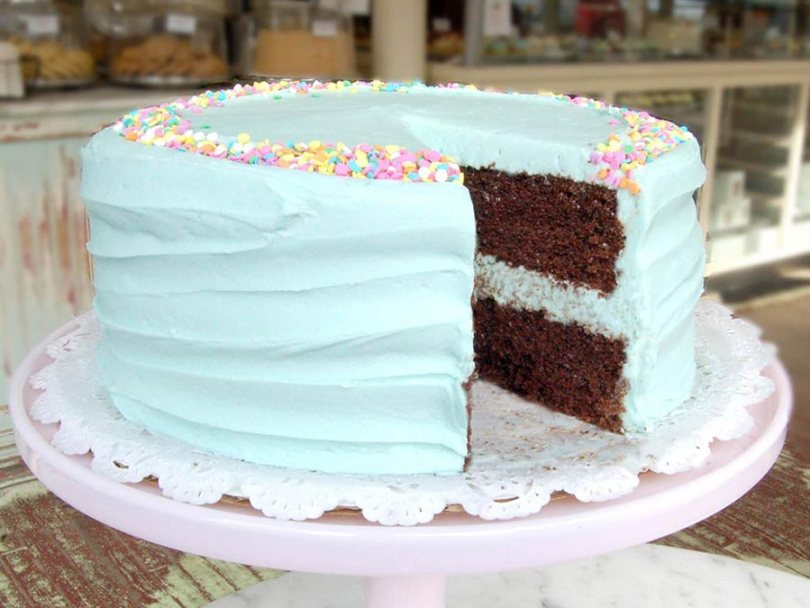 Magnolia Bakery is a cake shop in Dubai