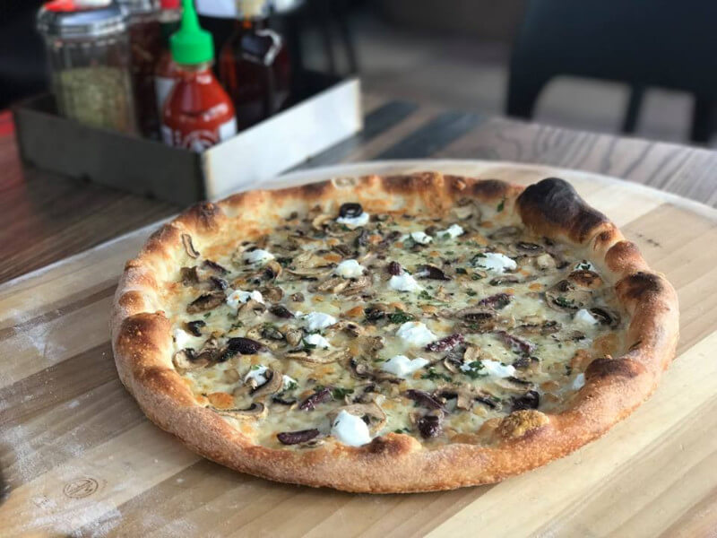 Pitfire Pizza is a pizza joint in Dubai