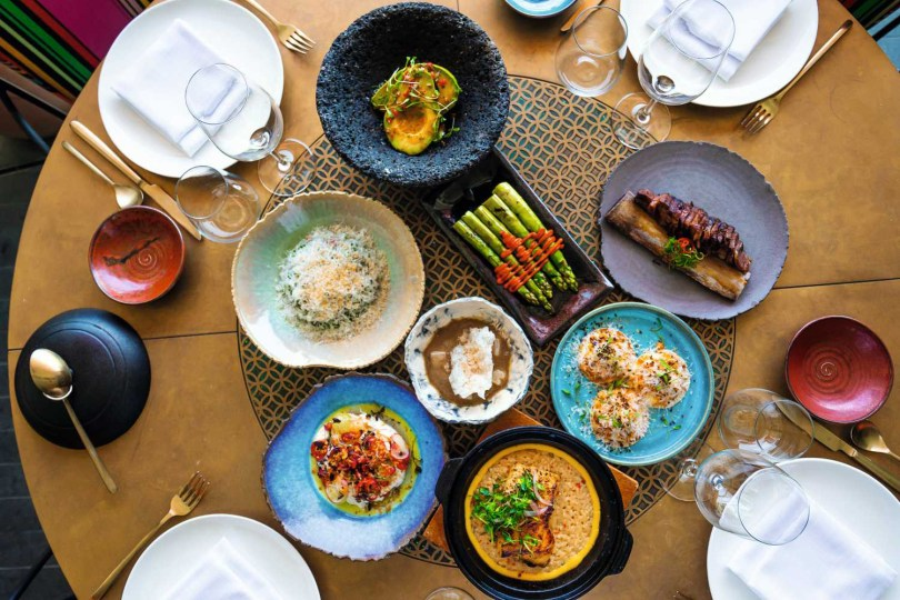Coya is a Latin American eatery