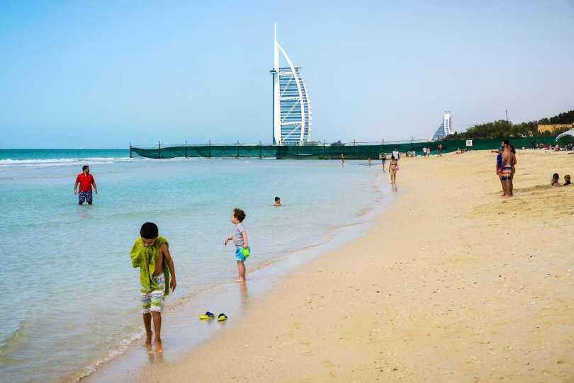 Al Sufouh Beach is one of the best beaches in Dubai